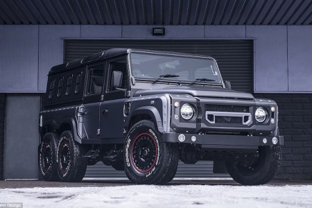 Who Needs the New Defender When There's a 6×6 That Seats Nine?