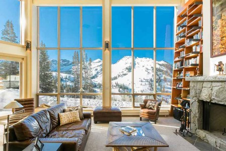 For Sale: The Ultimate Utah Ski Chalet, 9-Passenger Snowcat Included