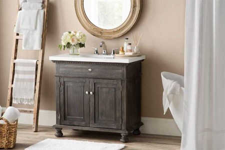 How to Turn Your Bathroom Into a Temple for Under $300
