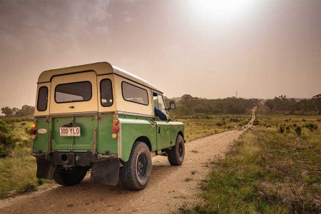 This Startup Is Assembling a Rentable Fleet of Electric Land Rovers