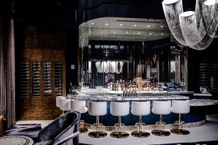 LA's Got a New Champagne Bar Fit for Literal Kings