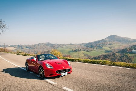 Win a Trip to Italy. With a Ferrari.