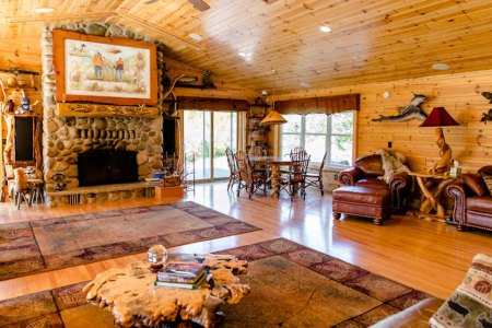 A Most Opulent Hunting Lodge for Your Next Michigan Adventure