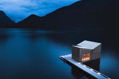 Is This the World's Most Beautiful Sauna?