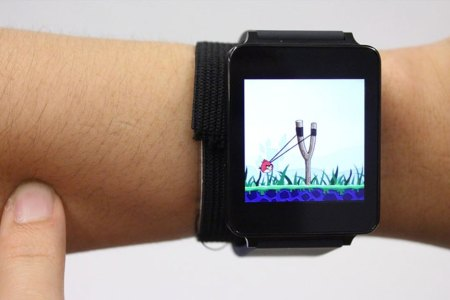 Next Up for Smartwatches? Turning Your Skin Into a Touchscreen.