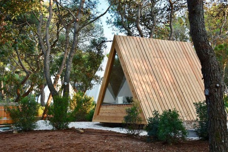 This Slovenian Company Creates Entire Pre-Fab Camping Villages