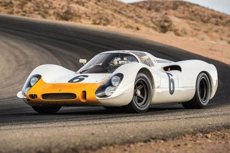One of Porsche's Earliest, Exceptionally Rare 908 Chassis Is for Sale