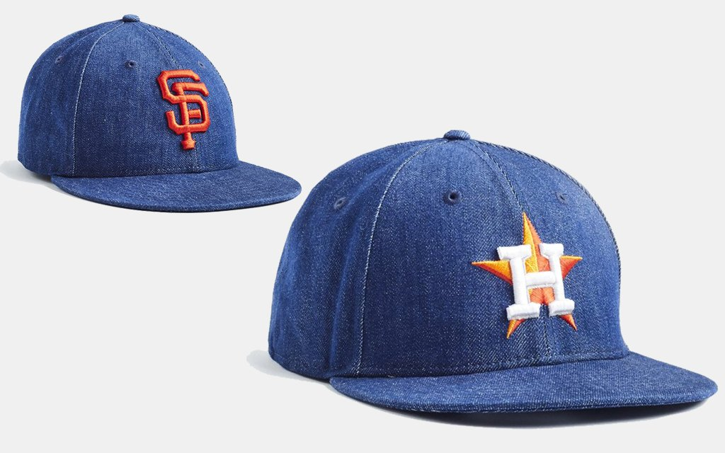449dcd182cfe4 All of These Rare Cone Mills Denim MLB Caps Are on Sale - InsideHook