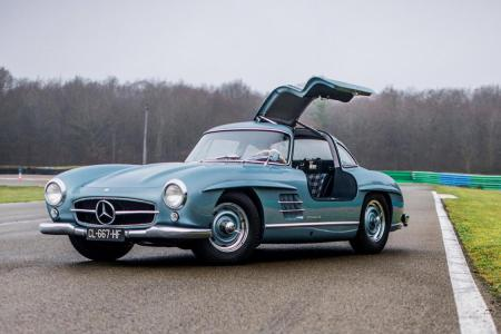 How Much Would You Pay for Paul Newman's '54 Gullwing?