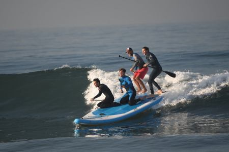 Hurry Up, Summer. We've Got a Six-Person Party Paddleboard to Test Out.