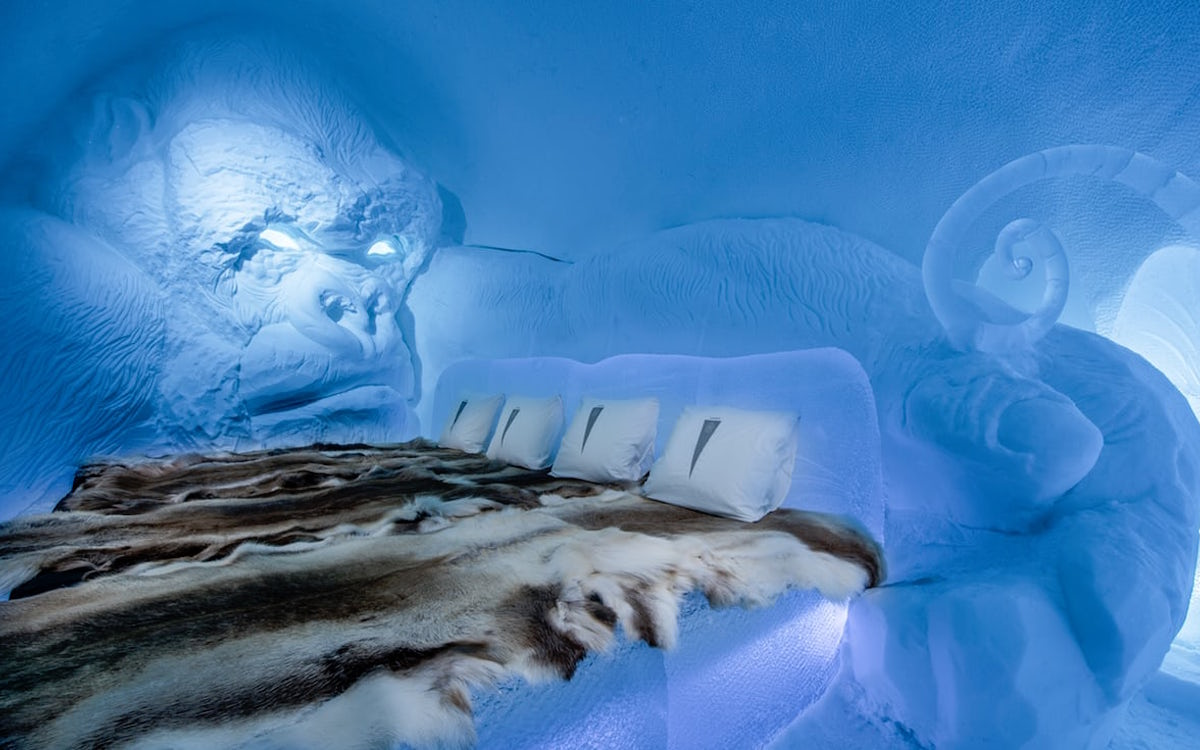 Sweden's Iconic Icehotel Is Back, and Wow, That's King Kong