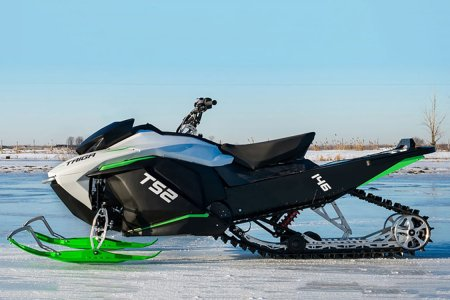 This Tesla-Inspired Electric Sled Goes 0-60 in Three Seconds