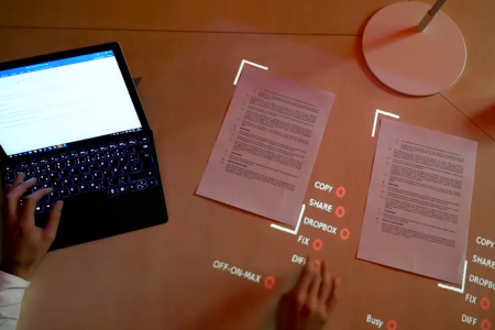 Bet Your Current Lamp Doesn't Have an Augmented-Reality Projector