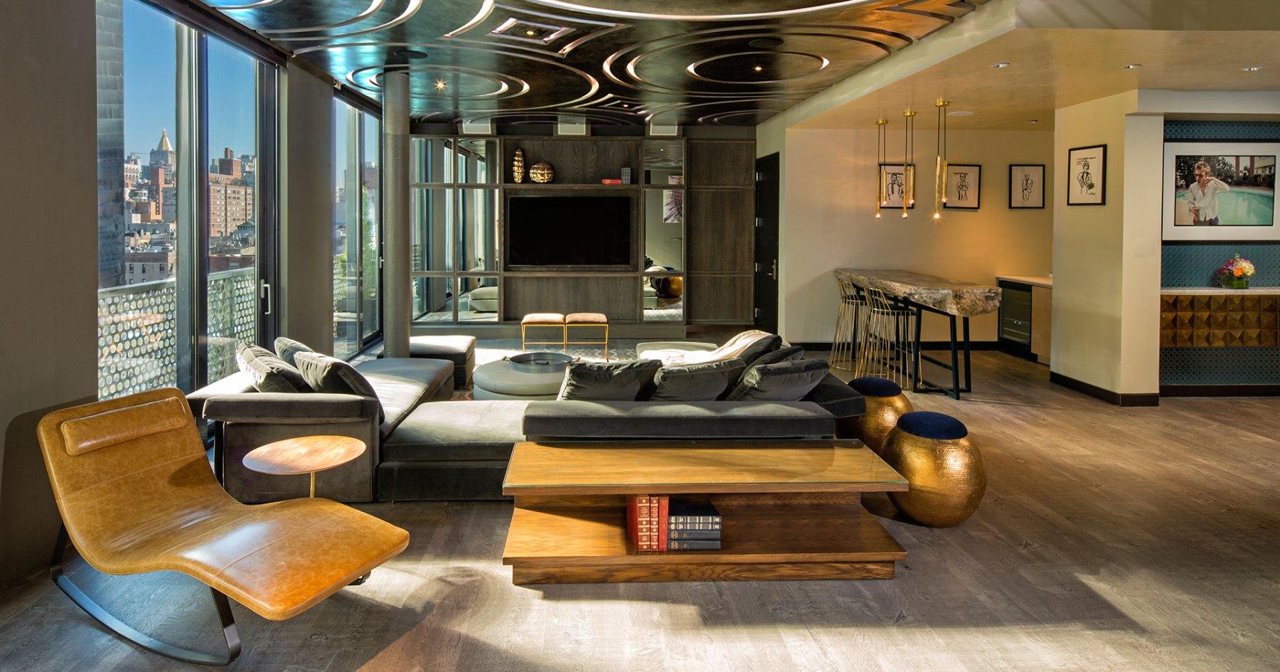 Ten of NYC's Best Hotel Penthouses