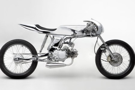 Chromed-Out Fighter-Jet Bikes Are the Best, Aren't They?