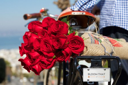 90 Seconds to Perfect V-Day Flowers, Via BloomThat