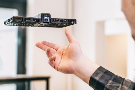 Drone Weighs Less Than a Book, Takes 4K Video