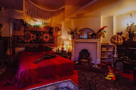 A Critical Analysis of Jimi Hendrix's Bedroom