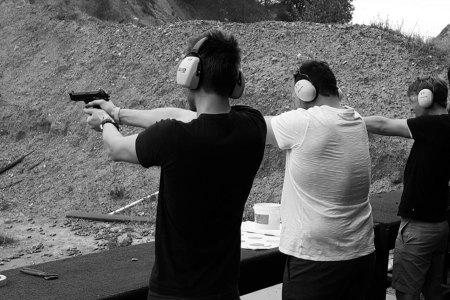 We Took a Meditation Tracker to a Gun Range