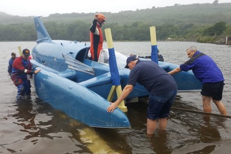 Watch the Restored Bluebird K7 Complete Its (Second) Maiden Voyage