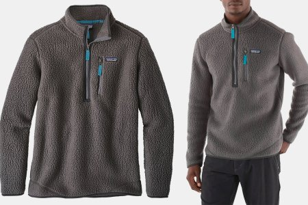 Yes, You Need Another Fleece. Patagonia's Retro Pullover Is 50% Off.
