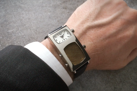 Make Calls, Solve Crimes With This Working Dick Tracy Radio Watch