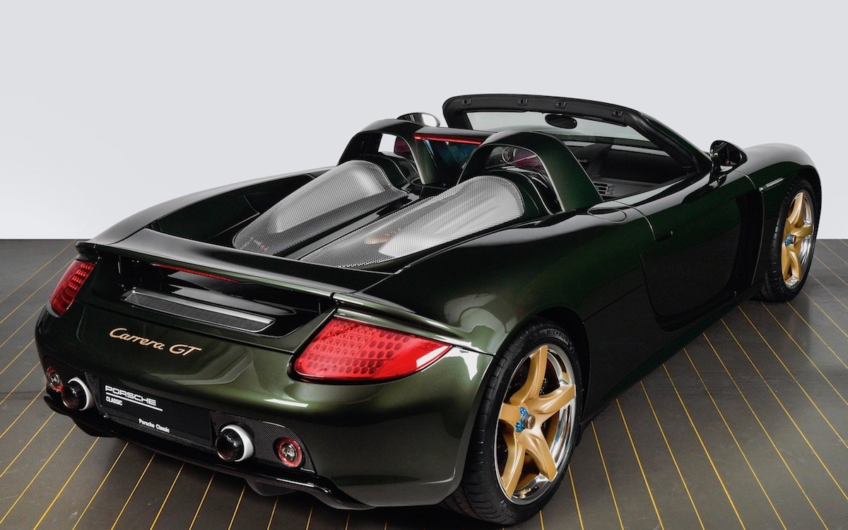 Porsche Disassembled a Carrera GT and Gave It a Piece-by-Piece Makeover