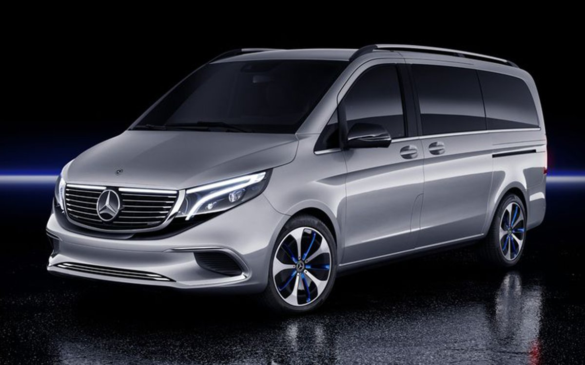 Would You Buy a Minivan If It Were an Electric Mercedes-Benz?