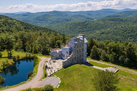 For Sale: Scottish Loch-Inspired Castle Sitting on 240 Vermont Acres