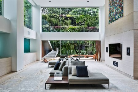When Your Living Room Wall Is a Swimming Pool, You've Arrived