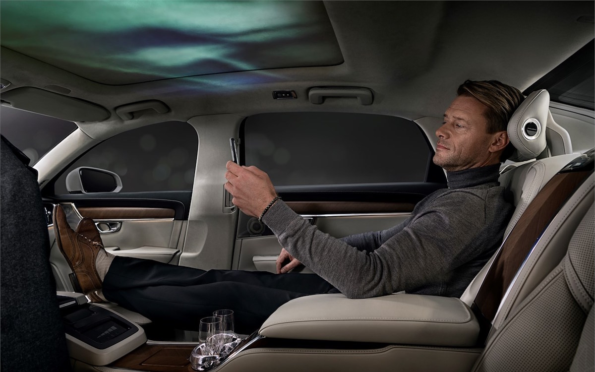 Volvo's New Backseat Is a Full-Blown Light, Sound and Scent Show