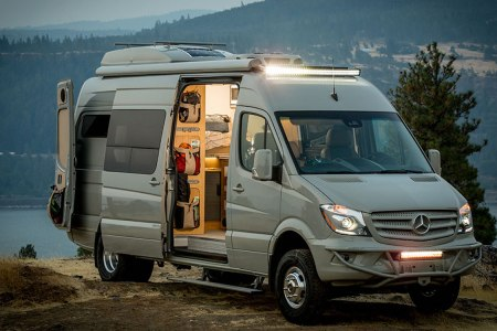 Someone Fit a Tiny Home, Trailer and Off-Grid Power Supply Into a Van