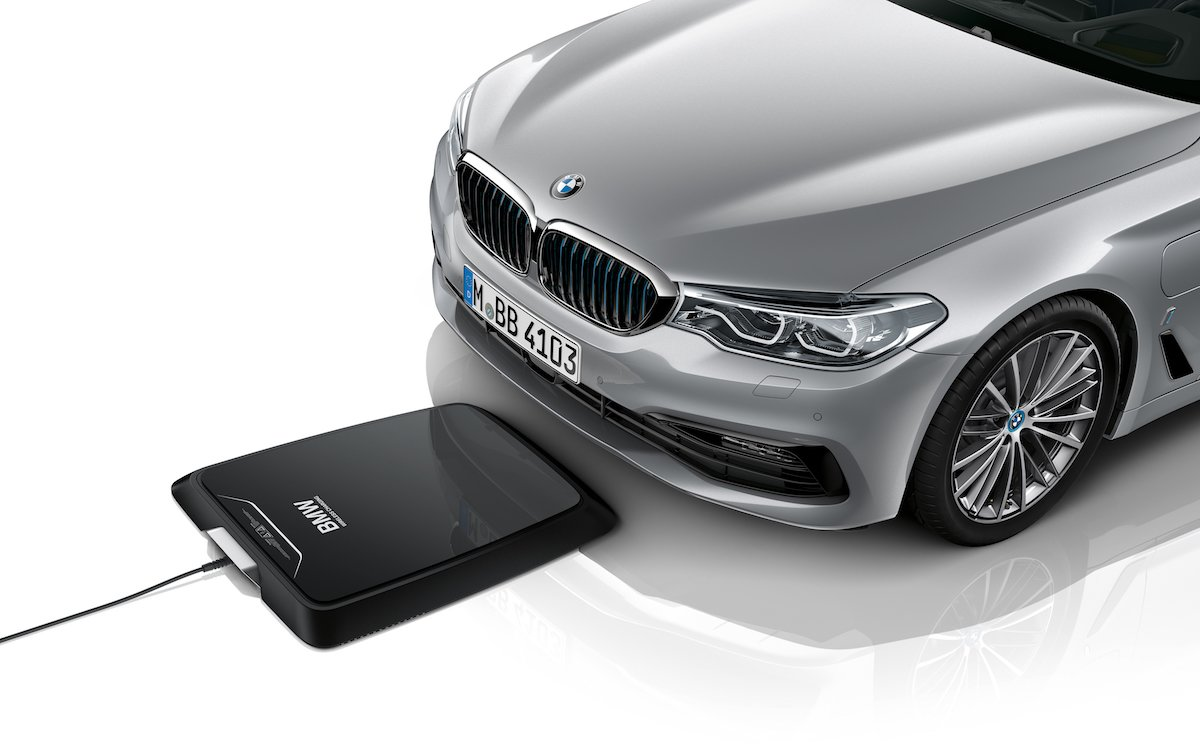 BMW Will Release the World's First Wireless Car Charger This Summer
