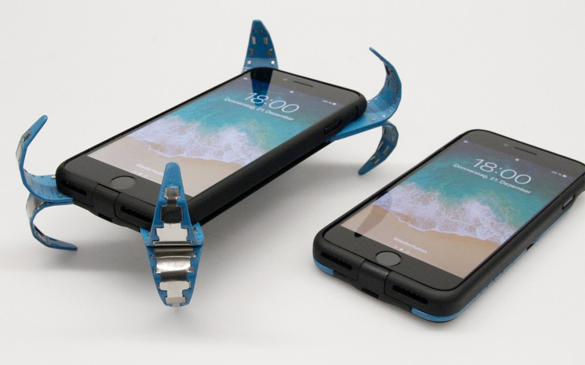 A German Student Just Built a Drop-Proof Smartphone Case