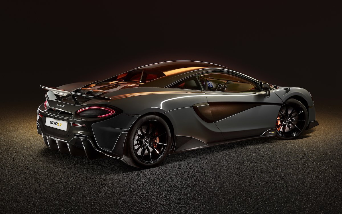 McLaren's Fourth 'Longtail' Floats Like a Butterfly, Stings Like the GT