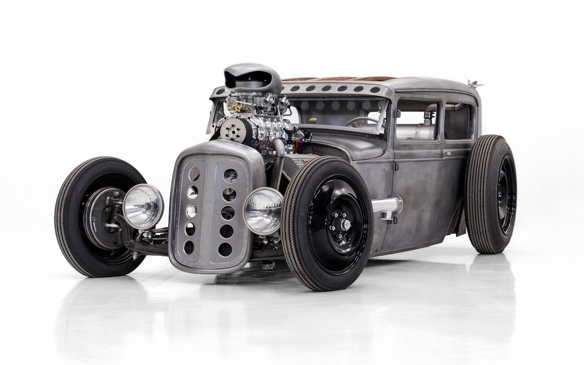 This Model A Hot Rod Might Be More Metal Than the Guitarist Who Owns It