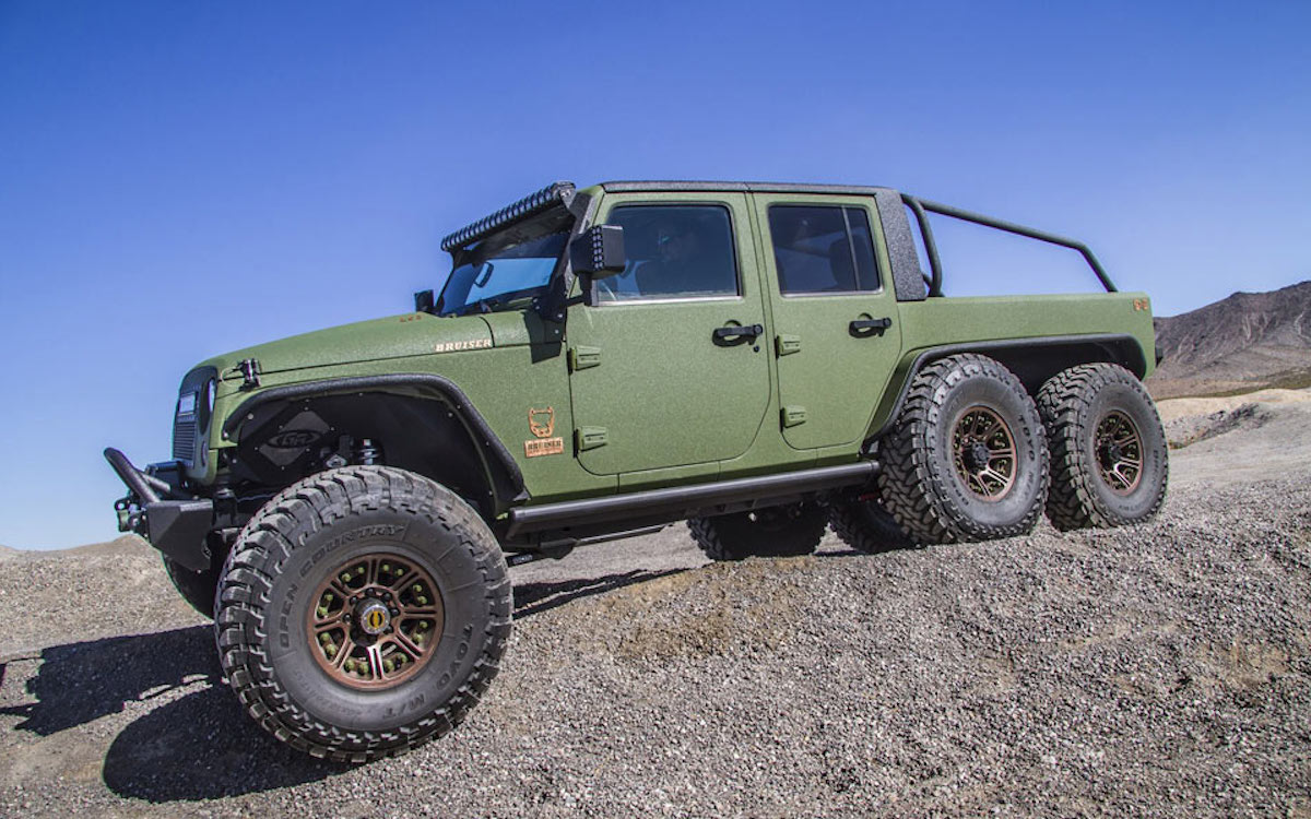 You Can't Take This Wrangler Four-Wheeling. Six-Wheeling, However…