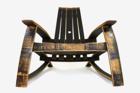 Adirondacks Are Better When Made From Old Bourbon Barrels