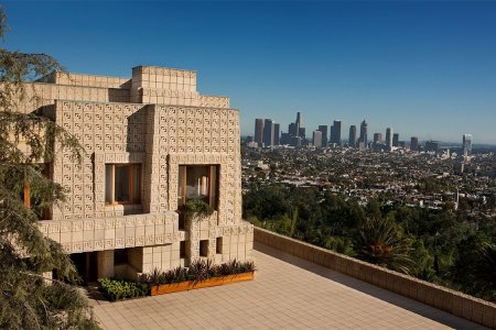 For Sale: Frank Lloyd Wright's Mayan, LA-Perched 'Ennis House'