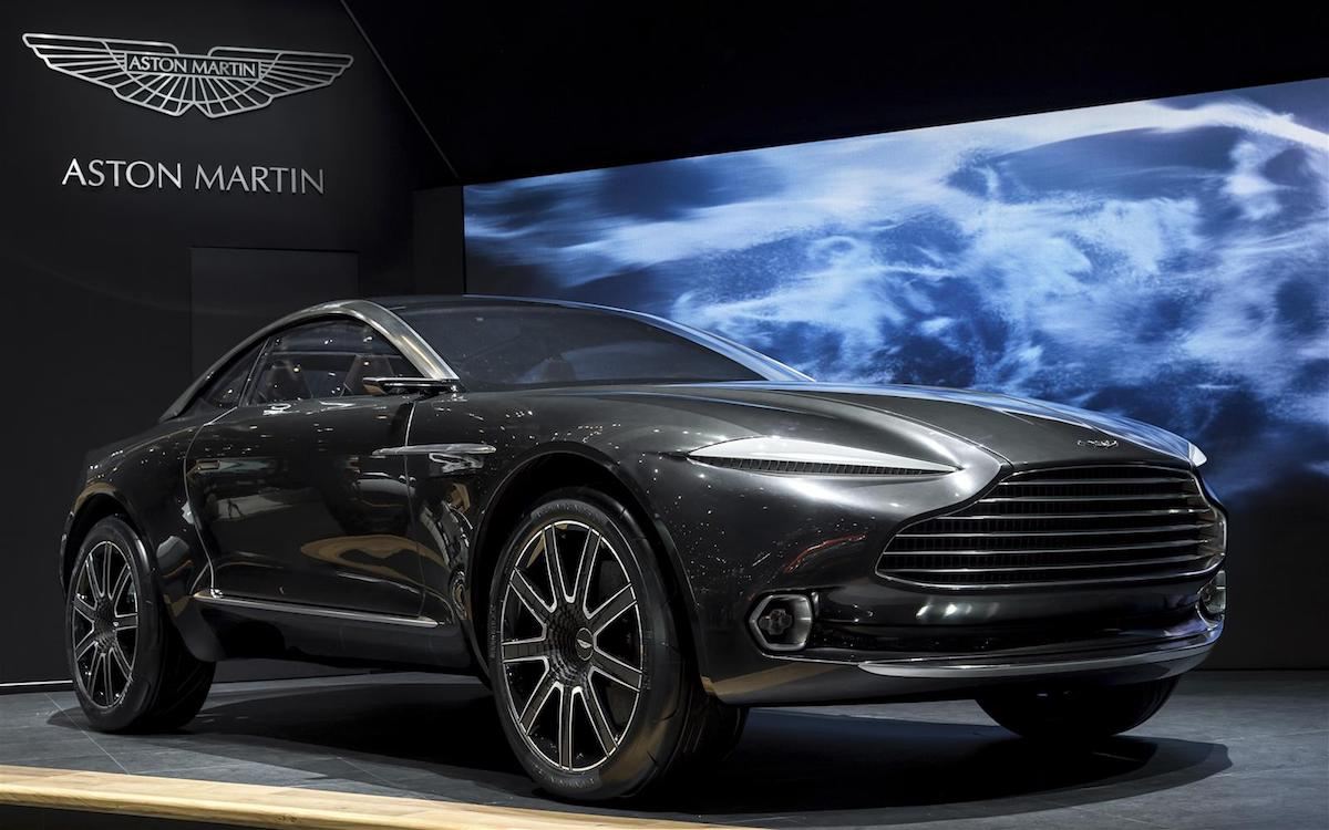 Aston Martin Announces First SUV Production to Begin in 2019