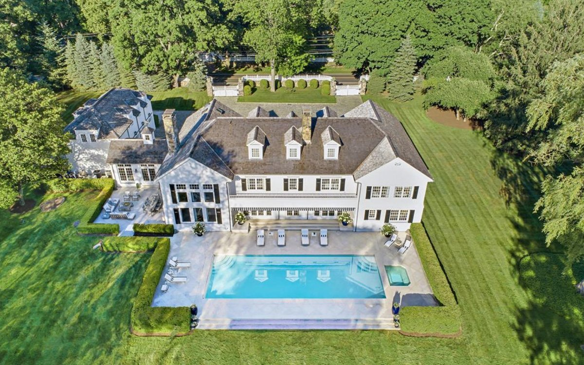 For Sale: Tommy Hilfiger's Immaculately Mown Connecticut Colonial