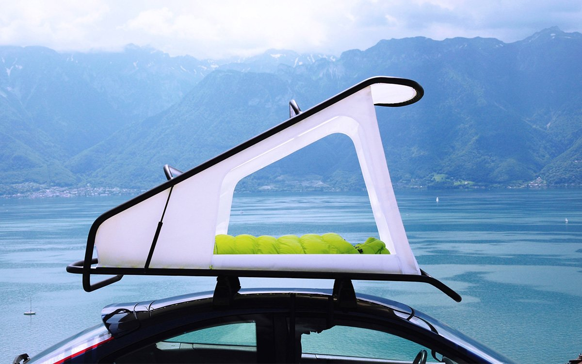 Rooftop Tent Is So Lightweight Your Car Will Forget It's Wearing It at All