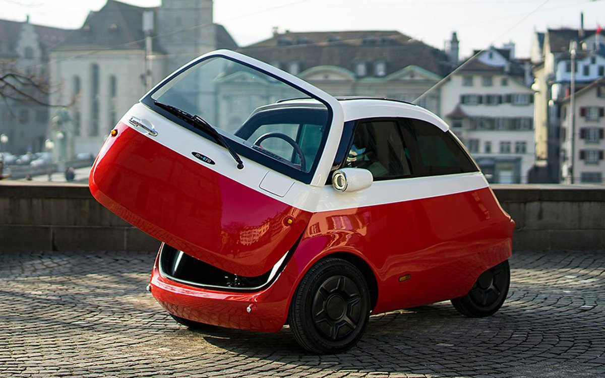 The Microlino Is What Happens When a Smart Car Turns Into a Swan