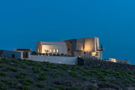 This Big Fat Greek Island Home Is Made of … Concrete?