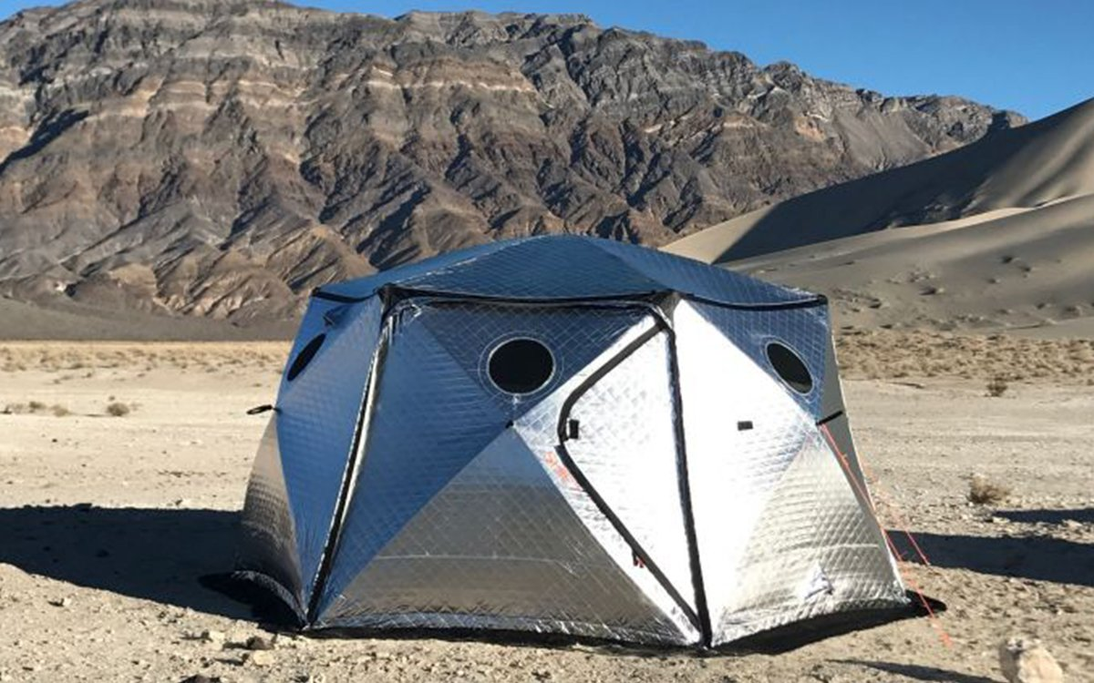 This Space-Age, All-Weather Tent Sets up in 17.8 Seconds