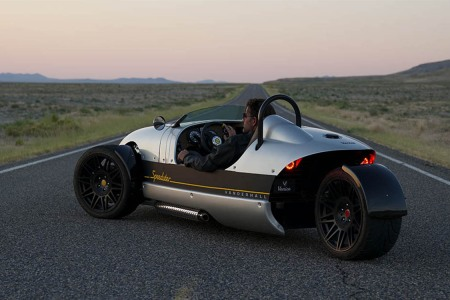 Prepare to Blow a Paycheck or Two on Vanderhall's New One-Seat Speedster