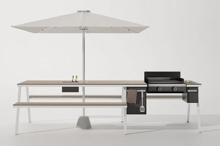 A Picnic Table With a Built-In Grill Sounds Cool. But Is It Really?