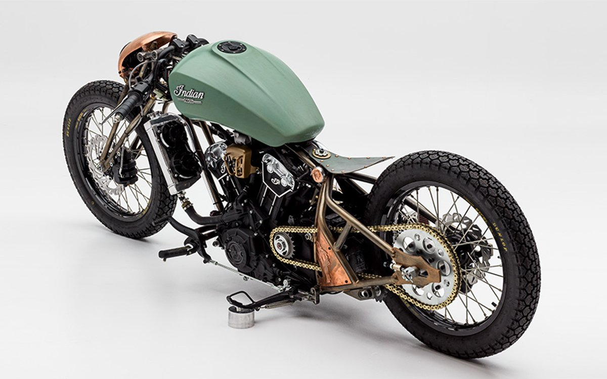 Here's How a NASA Engineer Won Indian's Scout Bobber Build-Off