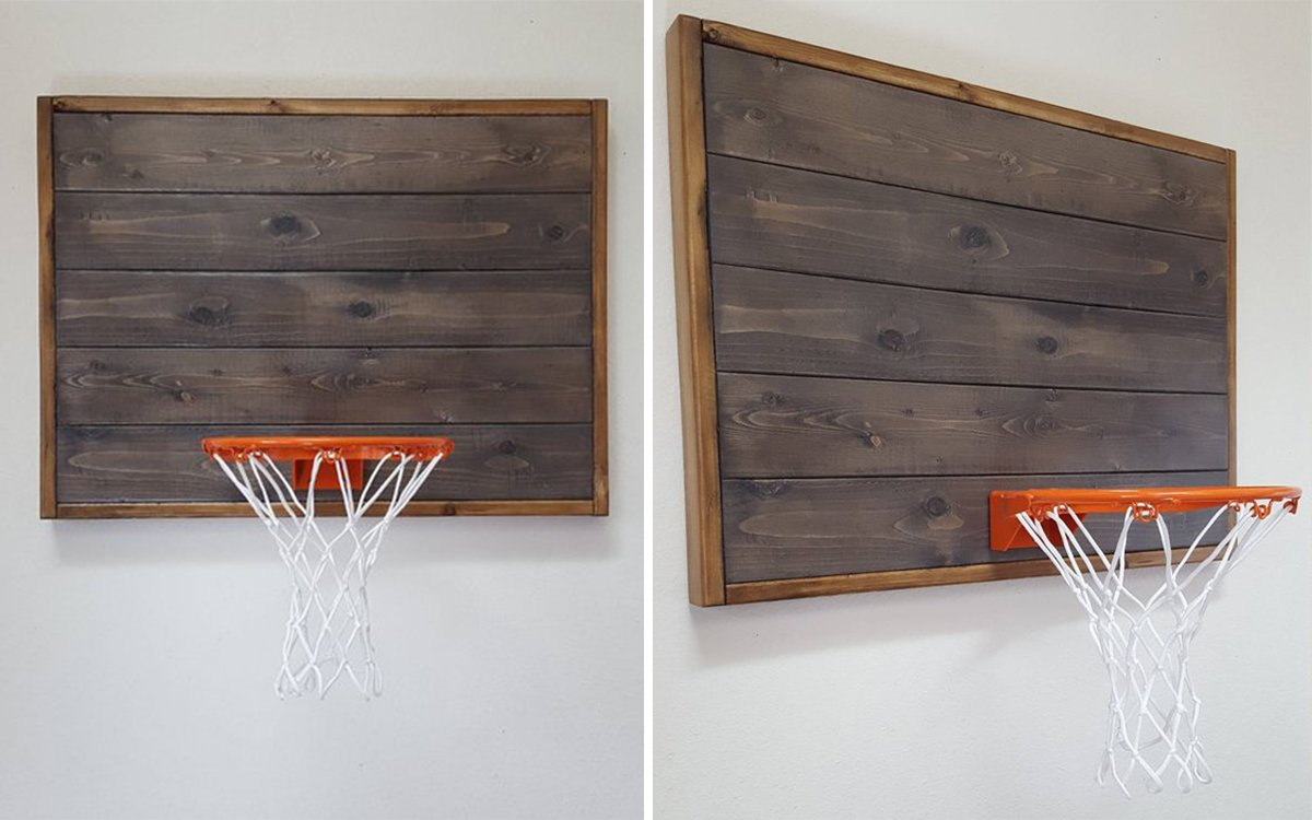 Basketball Hoops Handcrafted from Pacific Northwest White Pine. That Is All.