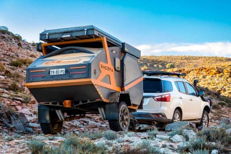 Australia's Sherpa Camper Is Featherlight, Strong Like Bull